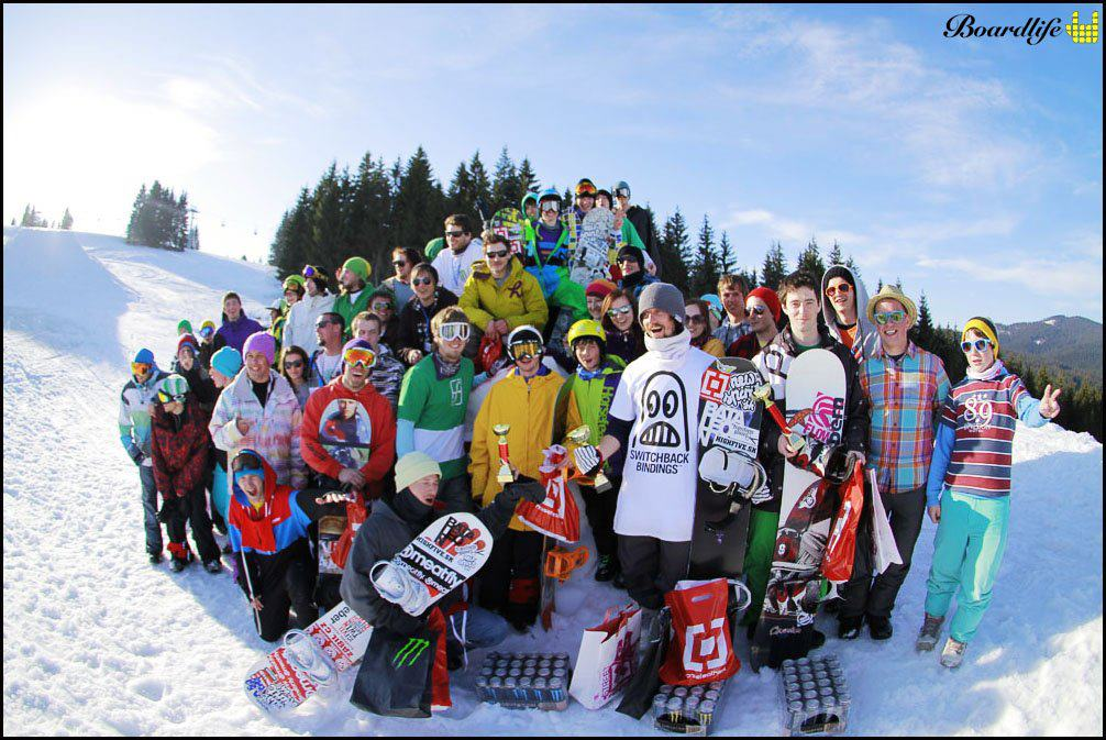 Slopstyle kontest Oravská Lesná - 2012 (Foto by boardlife.sk)