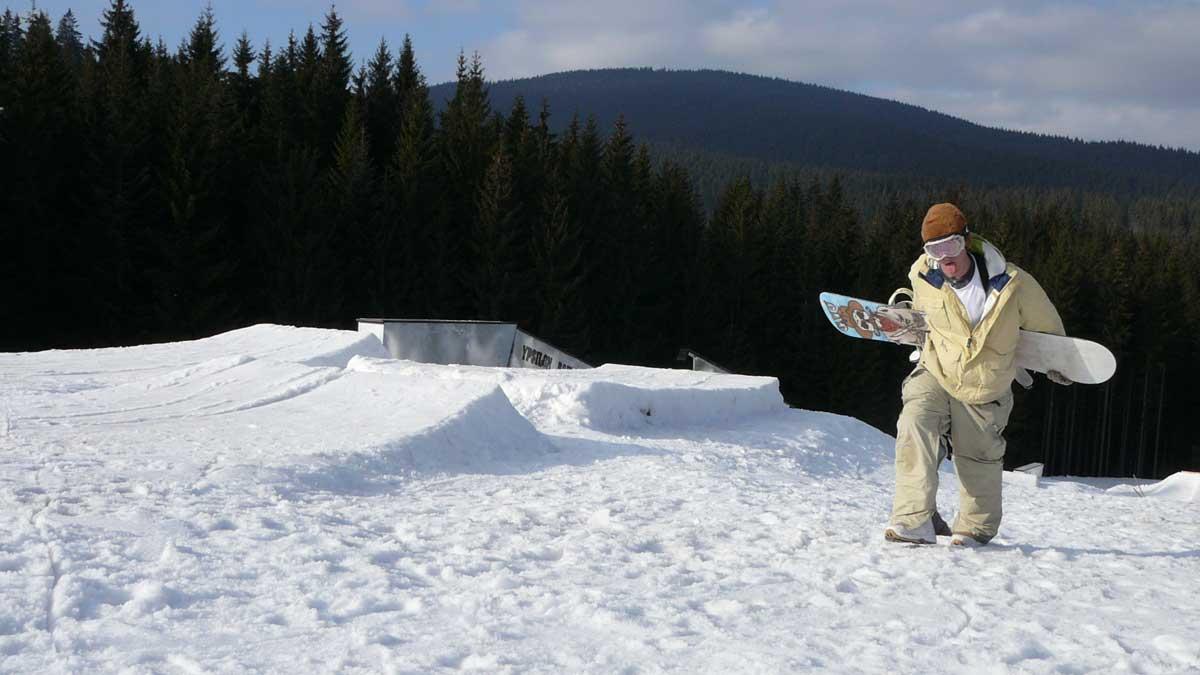 Snowpark v Oravskej Lesnej 2007
