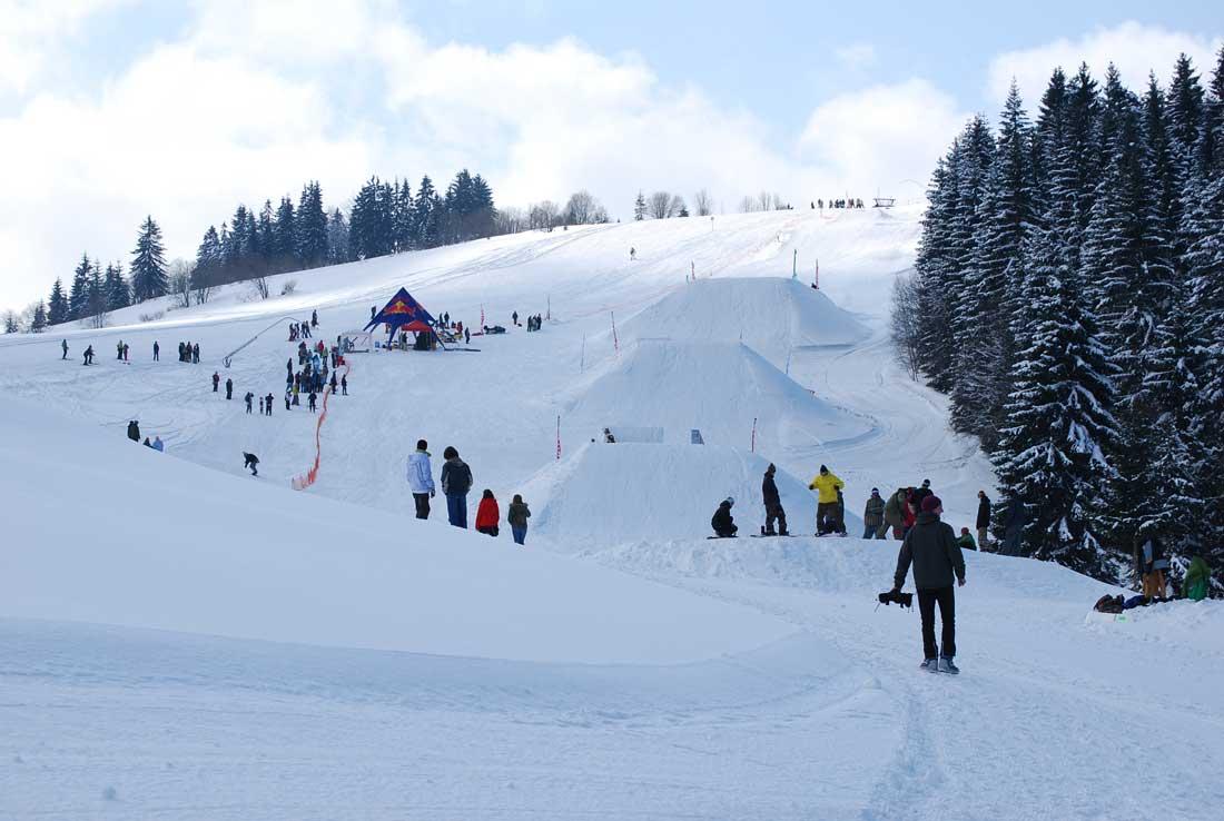 Snowpark v stredisku Orava Snow - 2009