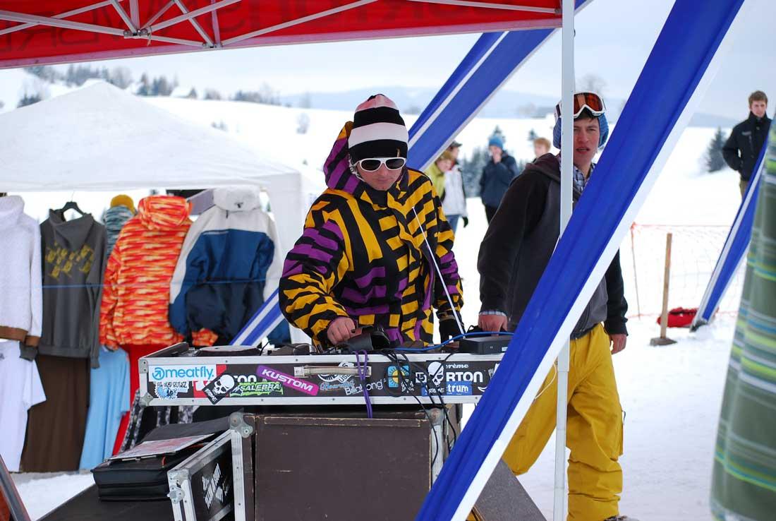 DJ a headshaper Ľudko Snovák