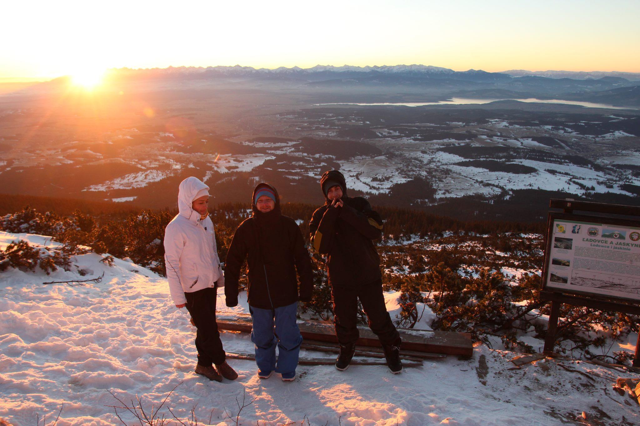 Novoročný východ slnka - 2013