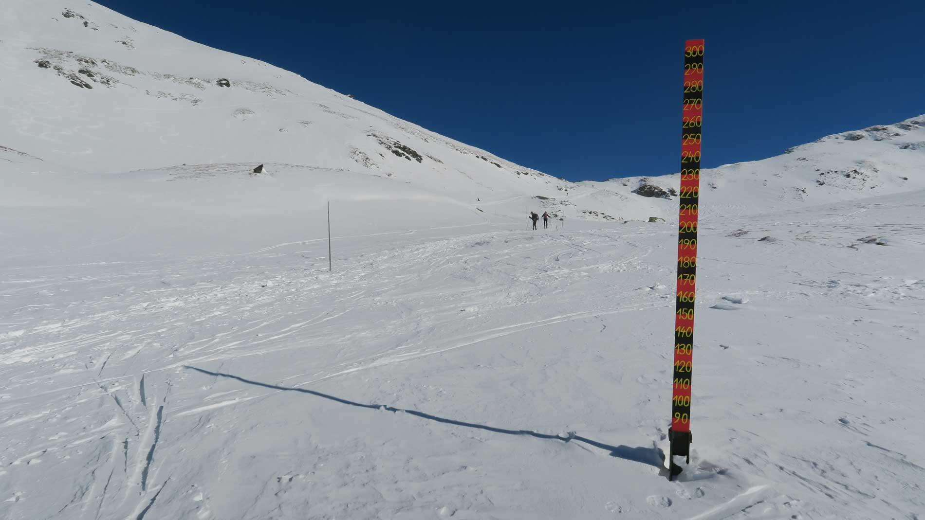 Snehový meter