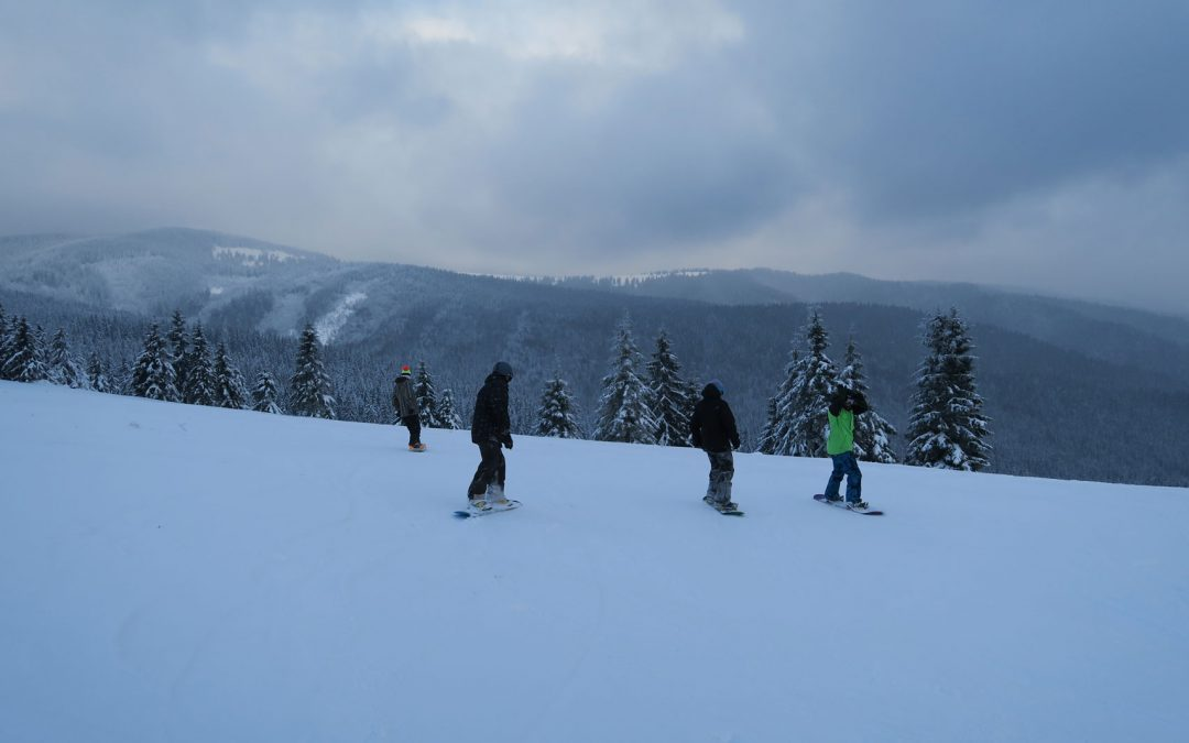 Výhľady a jazdenie z Vasiľovskej Hole